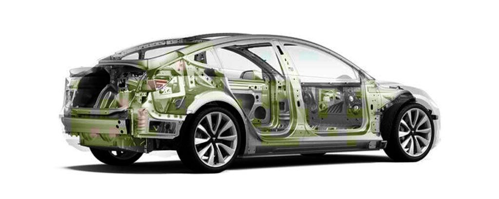 Tesla Parts запчасти